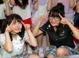 """原宿でファンイベントを行った""""まこみな""""(左から:まこ、みなみ) (C)ORICON NewS inc."""