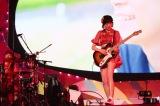 Silent Sirenのボーカル兼ギター・すぅ(18日=横浜アリーナ)