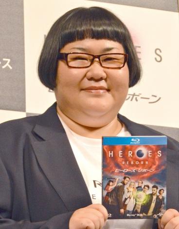『HEROES REBORN/ヒーローズ・リボーン』BD&DVDリリース記念イベントに出席したメイプル超合金・安藤なつ (C)ORICON NewS inc.