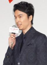 映画『シン・ゴジラ』完成報告会見に出席した長谷川博己 (C)ORICON NewS inc.