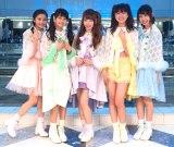 5人組アイドルグループ「マジカル・パンチライン」がメジャーデビュー(写真左から浅野杏奈、小山リーナ、佐藤麗奈、清水ひまわり、沖口優奈)