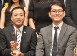 ナレーションを務める『大相撲いぶし銀列伝』が最優秀賞を受賞したナイツ(左から)塙宣之、土屋伸之 (C)ORICON NewS inc.