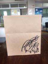 大友花恋のサイン