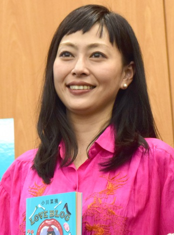 小川菜摘の著書『LOVE BLOG』刊行記念トークショーに出席した小日向しえ (C)ORICON NewS inc.