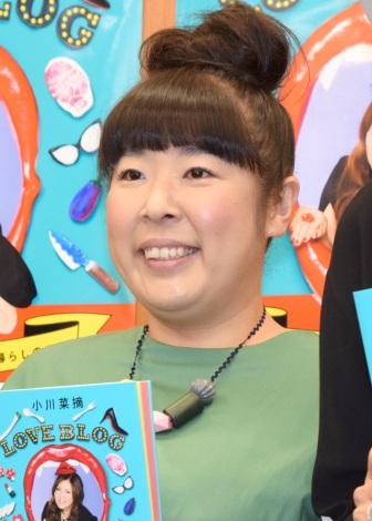 小川菜摘の著書『LOVE BLOG』刊行記念トークショーに出席した村上和子(森三中) (C)ORICON NewS inc.