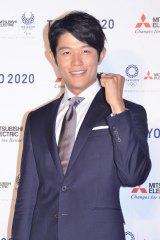 体操選手への憧れを語った鈴木亮平 (C)oricon ME inc.