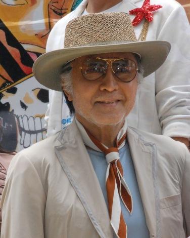 アニメ映画『ONE PIECE FILM GOLD』初日舞台あいさつに参加した北大路欣也 (C)ORICON NewS inc.