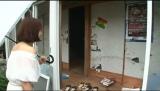 荒れ放題の自宅に「泣きたい気分になってきた」(C)テレビ朝日