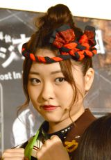 『「マジすか学園」〜Lost In The SuperMarket』公開ゲネプロに出席したAKB48・中西智代梨 (C)ORICON NewS inc.