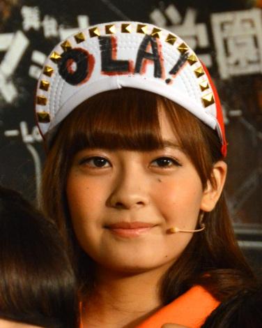 『「マジすか学園」〜Lost In The SuperMarket』公開ゲネプロに出席したAKB48・湯本亜美 (C)ORICON NewS inc.