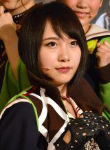 『「マジすか学園」〜Lost In The SuperMarket』公開ゲネプロに出席したAKB48・高橋朱里 (C)ORICON NewS inc.