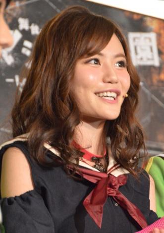 『「マジすか学園」〜Lost In The SuperMarket』公開ゲネプロに出席したAKB48・込山榛香 (C)ORICON NewS inc.