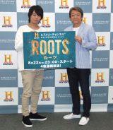 (左から)浪川大輔、内田直哉=ドラマ『ROOTS/ルーツ(2016)』取材会  (C)ORICON NewS inc.