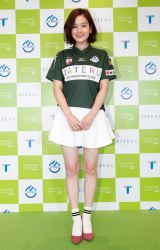 『「TATERU」SVホルン公式スポンサー』就任記念記者会見に出席した筧美和子