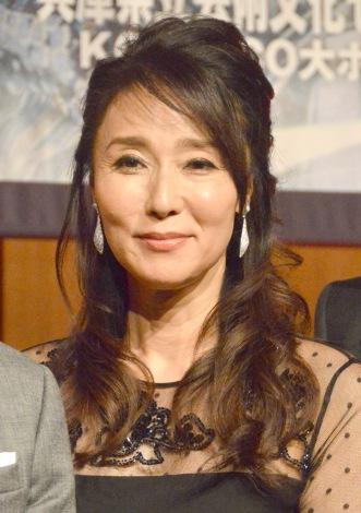 舞台『真田十勇士』制作発表会に出席した浅野ゆう子 (C)ORICON NewS inc.