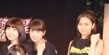 イベント『タタカッテシネ』第3回公演公開ゲネプロ後囲み取材に出席した(左から)高遠幸、津留慶子、竹内麻美 (C)ORICON NewS inc.