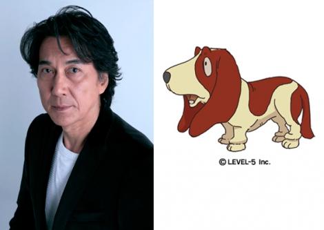 カトリーの助手でしゃべる犬・シャーロ役を務める役所広司