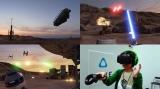 『スター・ウォーズ・セレブレーション・ヨーロッパ 2016』で「ILM×LAB」のVRデモ作品『Star Wars:Trials on Tatooine』を体験(C)& TM Lucasfilm Ltd. All Rights Reserved (C)ORICON NewS inc.