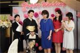 テレビ朝日系ドラマ『女たちの特捜最前線』第2話ゲストは前田美波里(左から2人目)(C)テレビ朝日