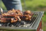 「肉は塊で焼く!」が鉄則のたけだ流BBQ (C)oricon ME inc.