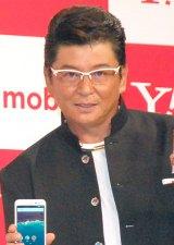 Y!mobile『Android One』発売記念イベントに出席した哀川翔 (C)ORICON NewS inc.