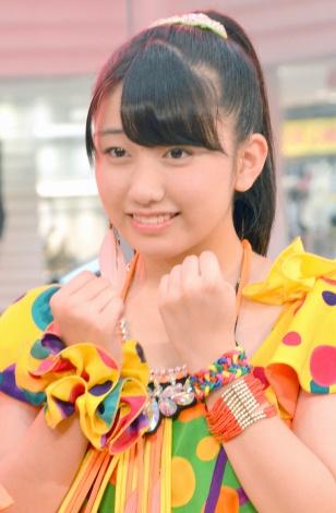 新曲『サンバ!こぶしジャネイロ/バッチ来い青春!/オラはにんきもの』発売記念イベントに出席したこぶしファクトリー・和田桜子(15) (C)ORICON NewS inc.