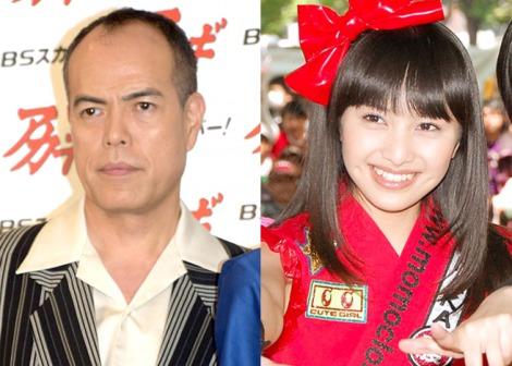 NHK連続テレビ小説『べっぴんさん』で夫婦役を務める(左から