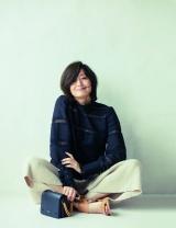『エクラ』の表紙モデルを担当することが決まった富岡佳子 (撮影/長山一樹【S-14】)
