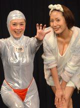 TBS系『キングオブコント2016』1回戦に初出場した(左から)白石まるみ、守永真彩 (C)ORICON NewS inc.
