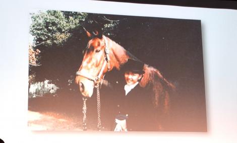 高校時代の写真を公開した木村佳乃=『リオデジャネイロ五輪・馬術競技』PRイベント (C)ORICON NewS inc.