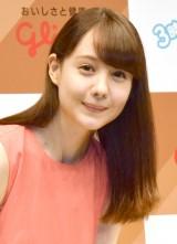 江崎グリコ『カフェオーレの日』PRイベントに登場したトリンドル玲奈 (C)ORICON NewS inc.