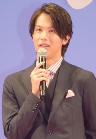 映画『四月は君の嘘』完成披露舞台あいさつに出席した中川大志 (C)ORICON NewS inc.