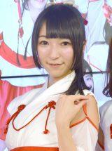 お笑いタレント・陣内智則の姪であるKRD8・宮脇舞依 (C)ORICON NewS inc.