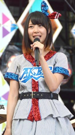 『熱闘甲子園』体感ステージに登場したSKE48・高柳明音 (C)ORICON NewS inc.