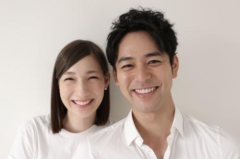 結婚発表した妻夫木聡とマイコ