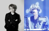 中田ヤスタカの曲に、作詞&ゲストボーカルとして参加した米津玄師(右)