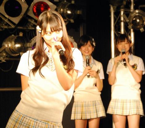 ゲームコーナー「セクシーシンクロ対決」大トリは白間美瑠=NMB48新曲「僕はいない」発売記念イベント (C)ORICON NewS inc.