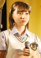 NMB48新曲「僕はいない」発売記念イベントに出演した太田夢莉 (C)ORICON NewS inc.