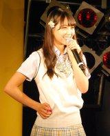 NMB48新曲「僕はいない」発売記念イベントに出演した白間美瑠 (C)ORICON NewS inc.