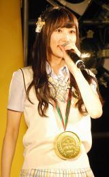 NMB48新曲「僕はいない」発売記念イベントに出演した矢倉楓子 (C)ORICON NewS inc.