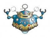 集英社が新漫画アプリ『Myジャンプ』のマスコットキャラ「ホンボット」(C)バードスタジオ/集英社