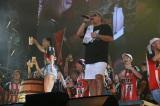 日産スタジアムでメジャーデビュー15周年記念ライブを開催したケツメイシ