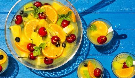 サムネイル 果汁たっぷりのフルーツポンチ