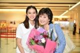 TBS系連続ドラマ『せいせいするほど、愛してる』に出演する(左から)武井咲、小林幸子 (C)TBS