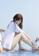 西野七瀬=22日に発売される1st写真集『乃木坂派』