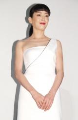 白ドレス姿で登壇した宮沢りえ=映画『ジャングル・ブック』舞台あいさつイベント (C)ORICON NewS inc.
