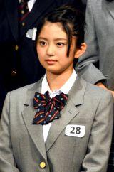 「乃木坂46さんを超えられるようなグループにしたい」と話した鈴本美愉 (C)ORICON NewS inc.