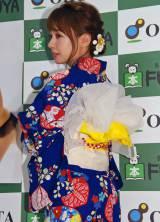ソロ写真集『nanairo』発売記念イベントを行ったNMB48の山田菜々 (C)ORICON NewS inc.