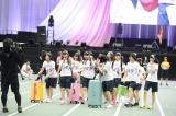 「AKB48グループ運動会」に3時間遅れで到着したHKT48 (C)AKS
