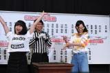 SKE48予備戦で市野成美(左)敗れた松井珠理奈(C)AKS